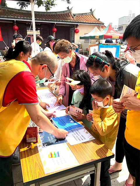 福智佛教基金會於金門舉辦「2021福智幸福列車」活動圓滿,攤位多元、寓教於樂,大家扶老攜幼共襄盛舉