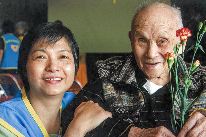 林美珠與仁愛之家的長者