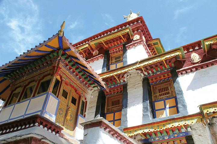 福智僧團有很多督促學生開口練習藏文的機制,因此雖然並非身處藏地生活圈,但是基礎不弱。