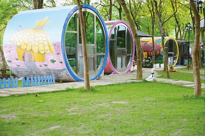 幸福看板:竹林中的童趣境——竹亮山莊