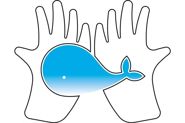 守護海洋,從不拿塑膠袋開始活動logo