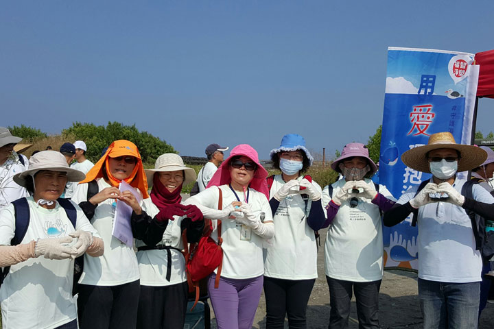 響應用愛環抱海洋——「守護海洋,從不拿塑膠袋開始」