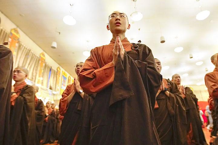 福智根本道場動土,貴賓與僧俗大眾齊聚祝福