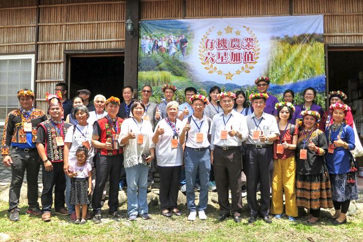 執行花東「推動有機農業六星加值計畫」,鏈結產業多元合作,活化在地農業、經濟與人文價值。