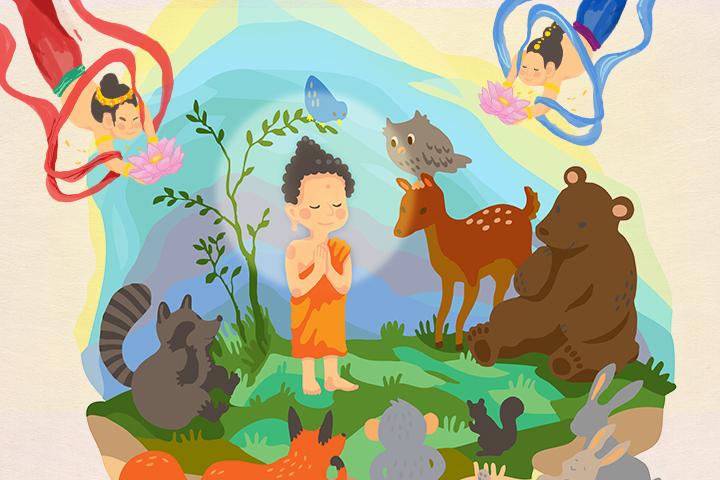 【浴佛前行】佛陀故事: 孝順的小王子