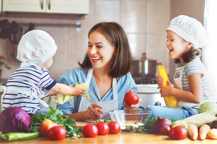 蔬食孕媽媽營養充足,蔬食寶寶頭好壯壯!