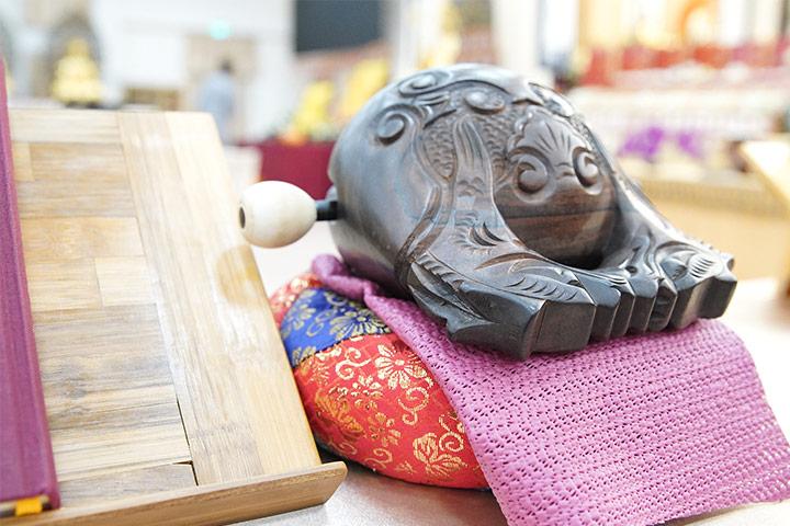 福智2020秋季誦經超薦祈福法會圓滿,透過直播邀請佛陀來我家!